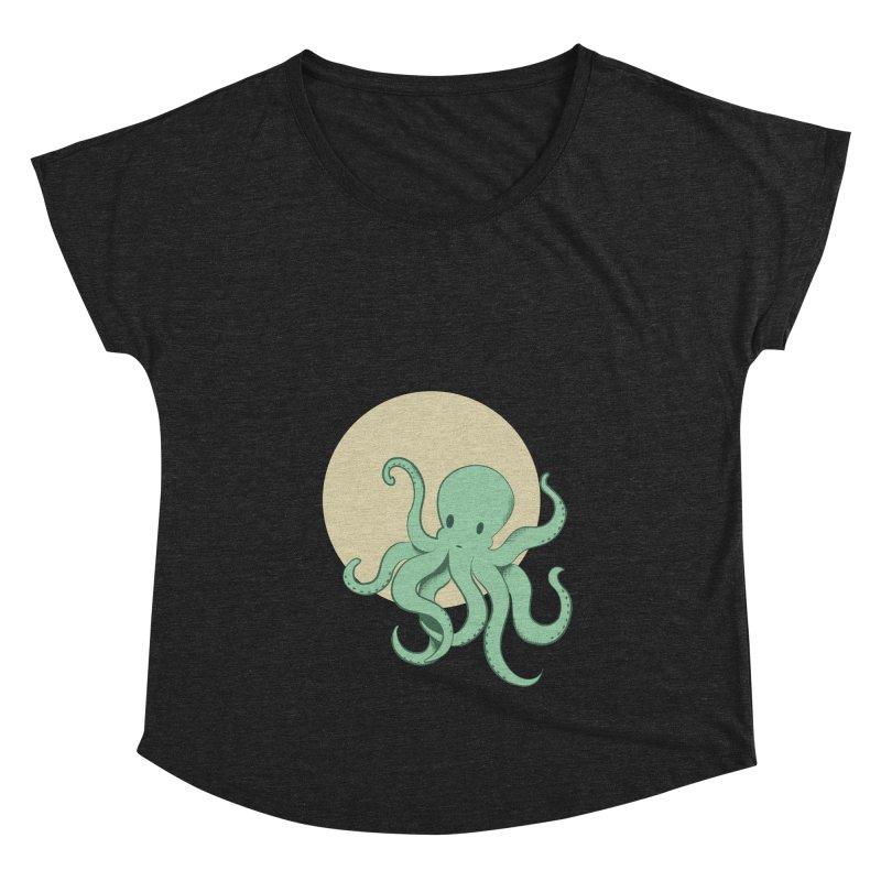 Octopus Women's Scoop Neck by Svaeth's Artist Shop