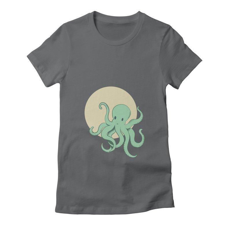 Octopus Women's T-Shirt by Svaeth's Artist Shop