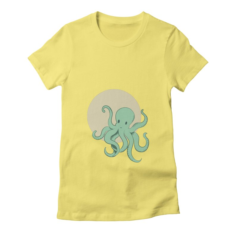 Octopus Women's T-Shirt by Svaeth's Artist Shop