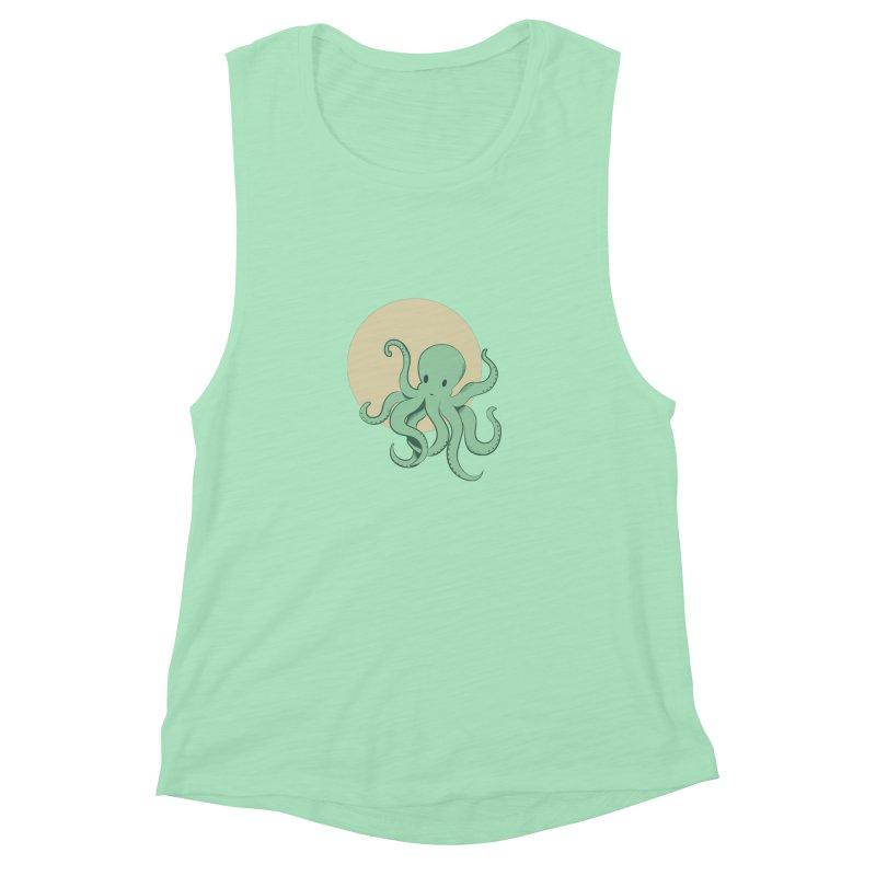 Octopus Women's Muscle Tank by Svaeth's Artist Shop