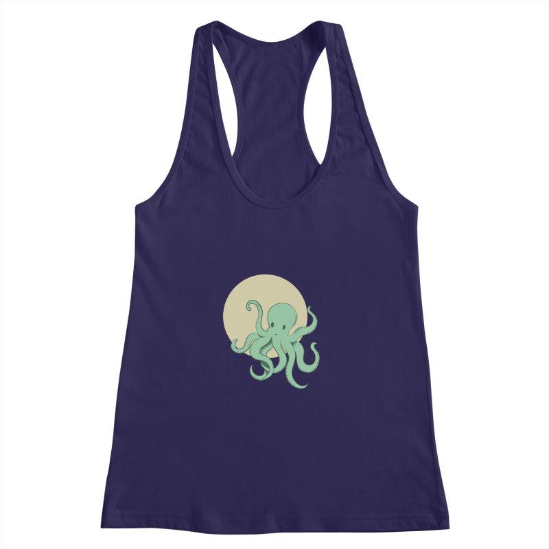 Octopus Women's Racerback Tank by Svaeth's Artist Shop