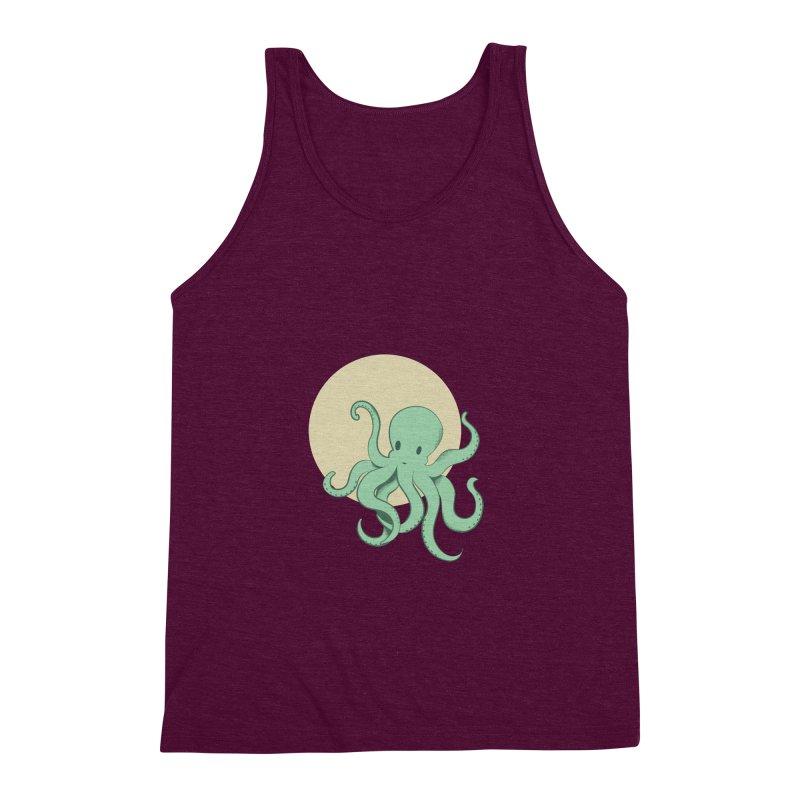 Octopus Men's Triblend Tank by Svaeth's Artist Shop