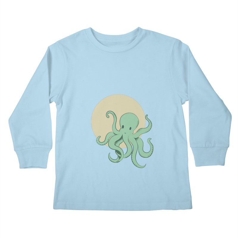 Octopus Kids Longsleeve T-Shirt by Svaeth's Artist Shop