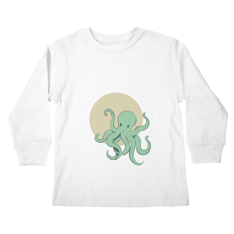 Octopus Kids Longsleeve T-Shirt by Svaeth's Artist Shop
