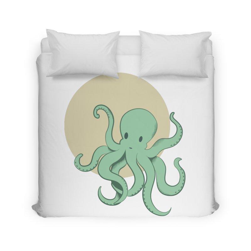 Octopus Home Duvet by Svaeth's Artist Shop