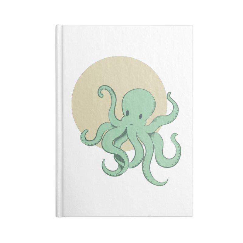 Octopus Accessories Notebook by Svaeth's Artist Shop