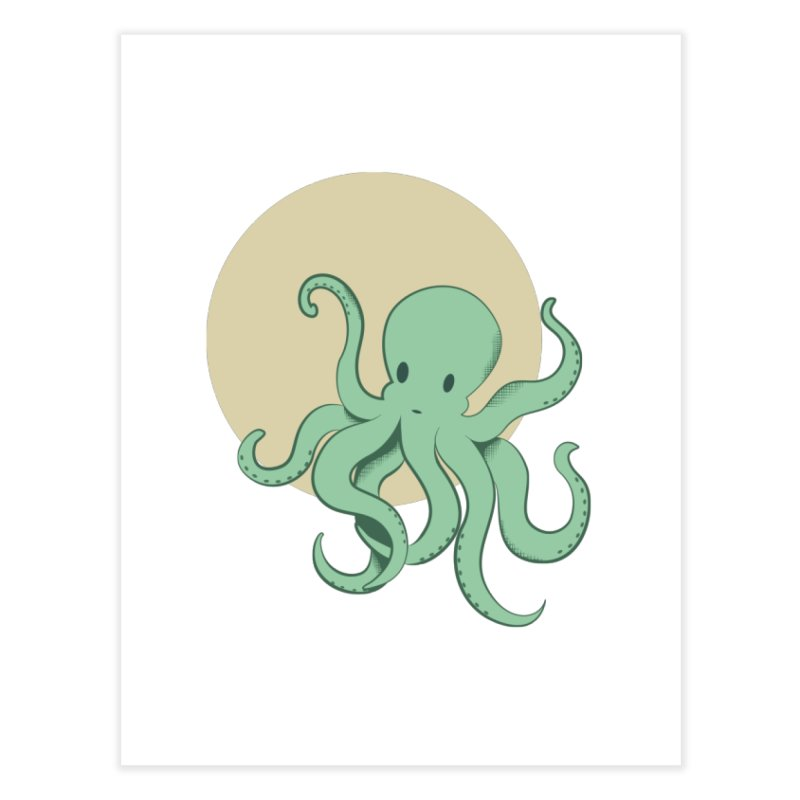 Octopus Home Fine Art Print by Svaeth's Artist Shop