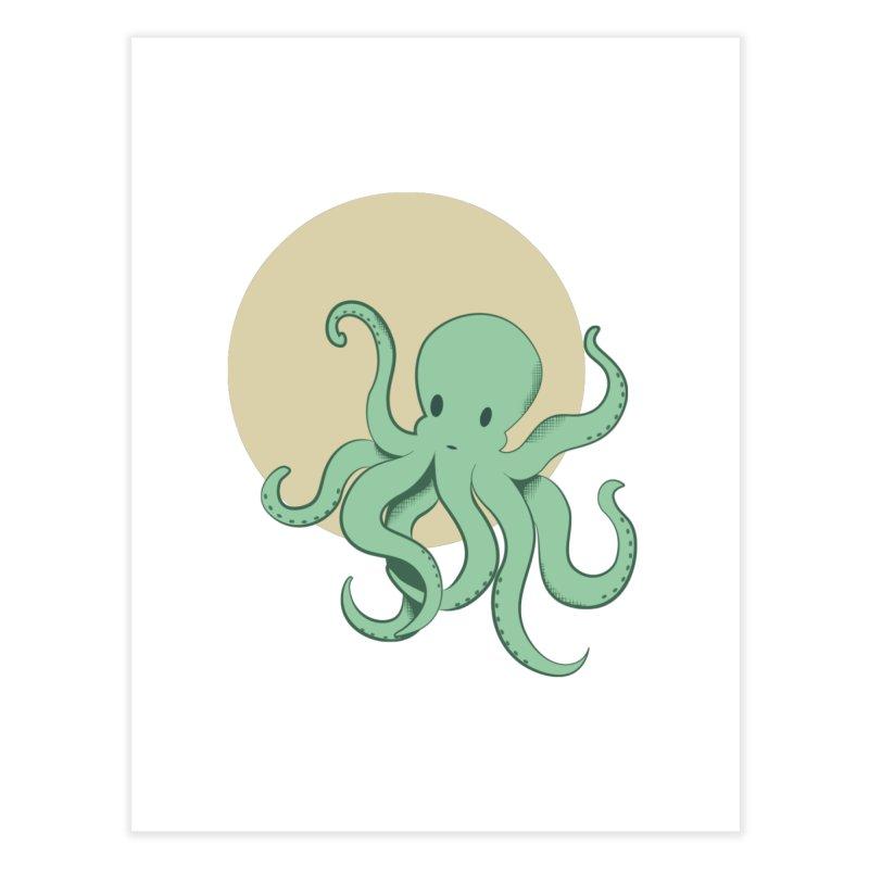 Octopus Home Fine Art Print by Svaeth's Artist Shop
