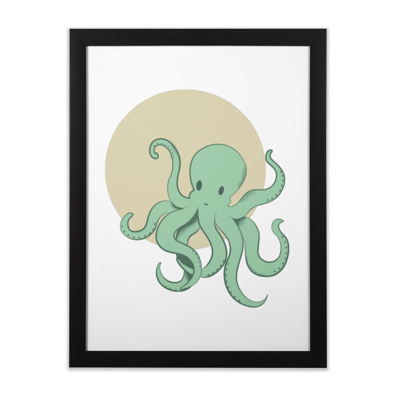 Octopus Home Framed Fine Art Print by Svaeth's Artist Shop