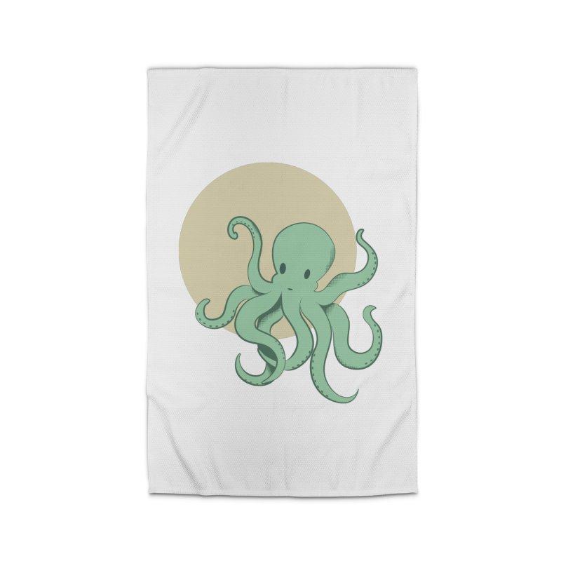 Octopus Home Rug by Svaeth's Artist Shop