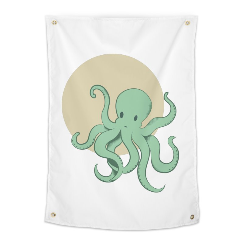 Octopus Home Tapestry by Svaeth's Artist Shop