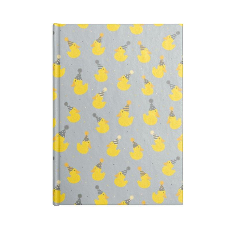 Party Ducks Accessories Notebook by Svaeth's Artist Shop