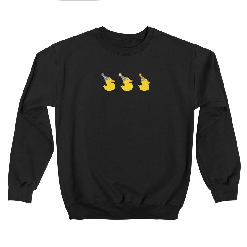 Party Ducks Men's Sweatshirt by Svaeth's Artist Shop