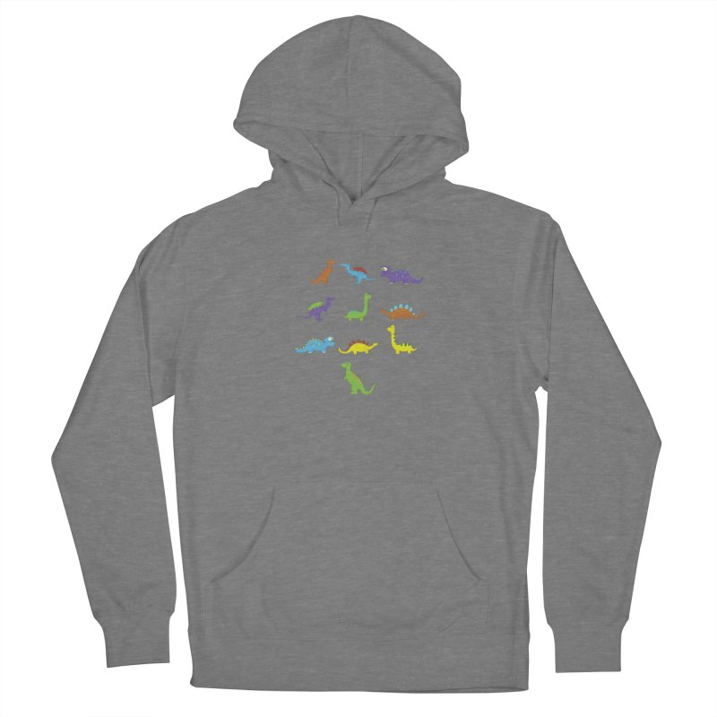 Playful Dinosaurs Women's Pullover Hoody by Svaeth's Artist Shop