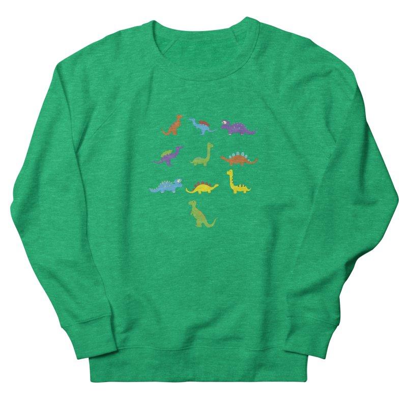 Playful Dinosaurs Women's Sweatshirt by Svaeth's Artist Shop