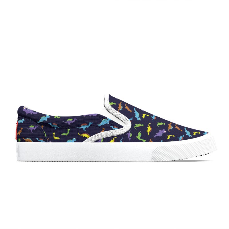 Playful Dinosaurs Women's Shoes by Svaeth's Artist Shop