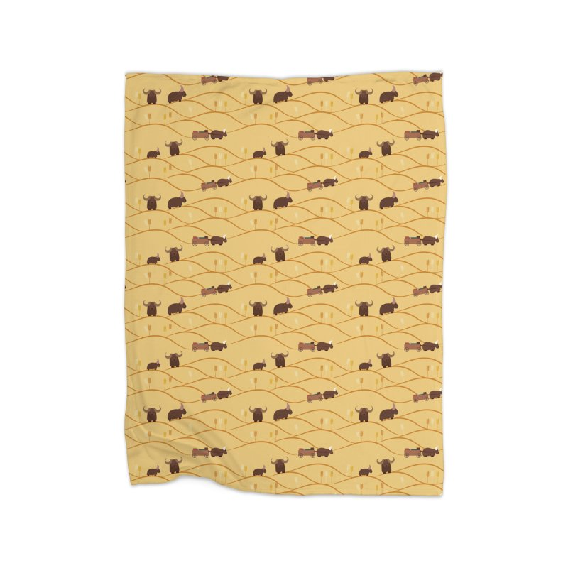 Year of the Ox Home Blanket by Svaeth's Artist Shop