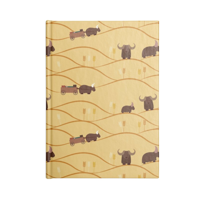 Year of the Ox Accessories Notebook by Svaeth's Artist Shop