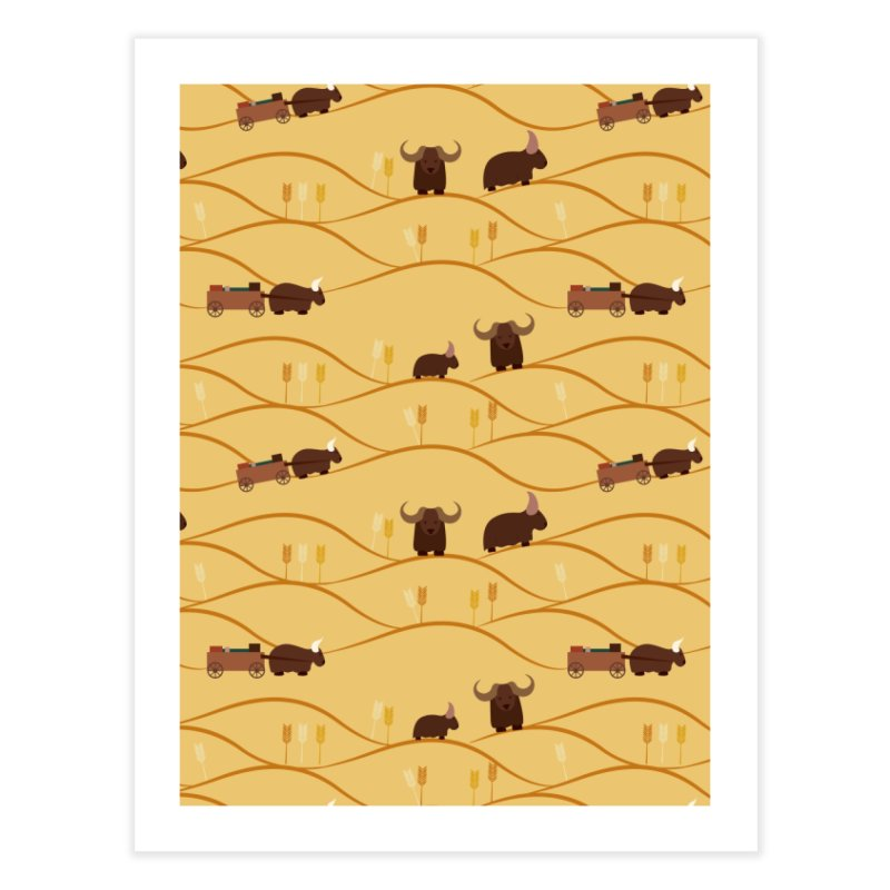 Year of the Ox Home Fine Art Print by Svaeth's Artist Shop