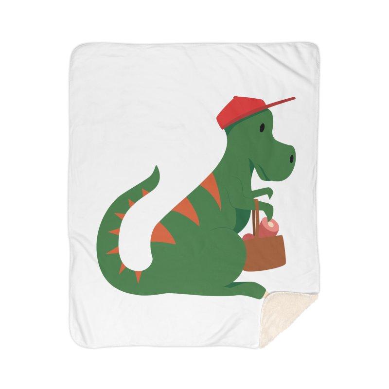 Shopping T. Rex Home Blanket by Svaeth's Artist Shop