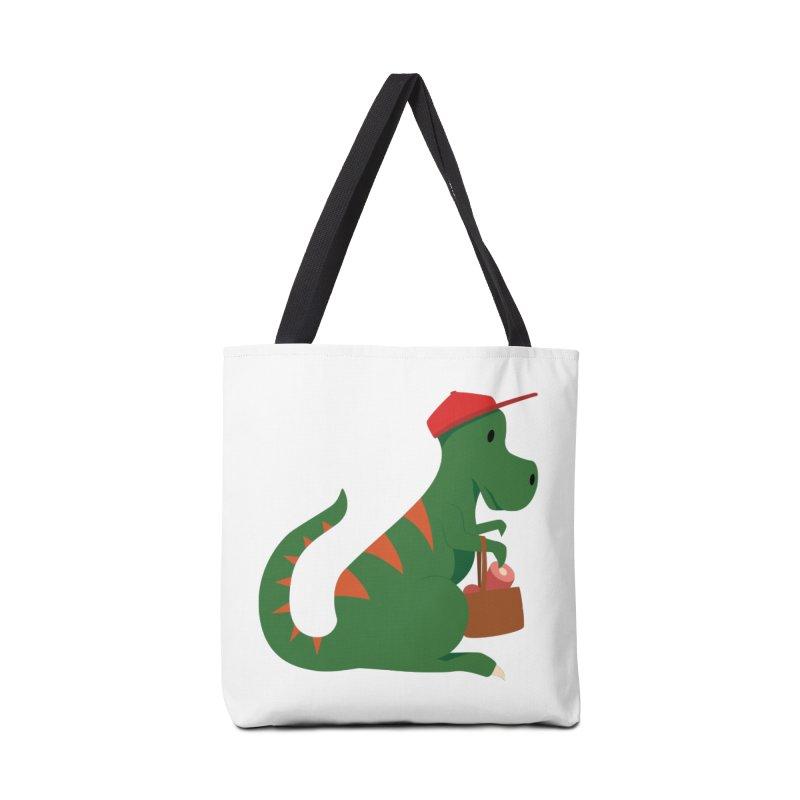 Shopping T. Rex Accessories Bag by Svaeth's Artist Shop