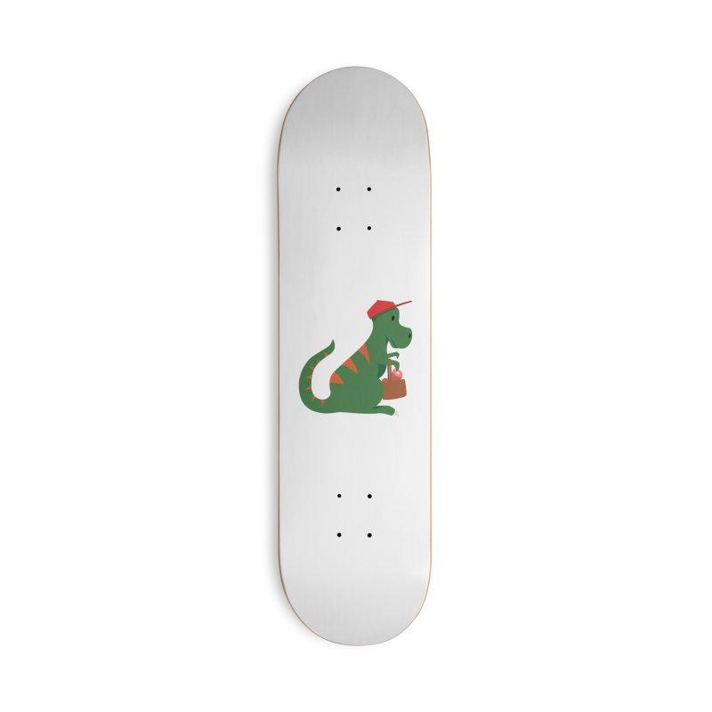 Shopping T. Rex Accessories Skateboard by Svaeth's Artist Shop