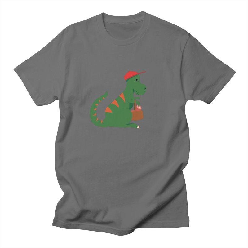 Shopping T. Rex Men's T-Shirt by Svaeth's Artist Shop