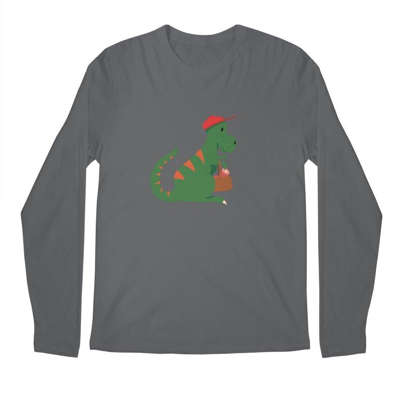 Shopping T. Rex Men's Longsleeve T-Shirt by Svaeth's Artist Shop