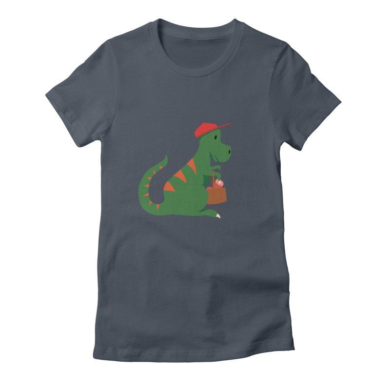 Shopping T. Rex Women's T-Shirt by Svaeth's Artist Shop