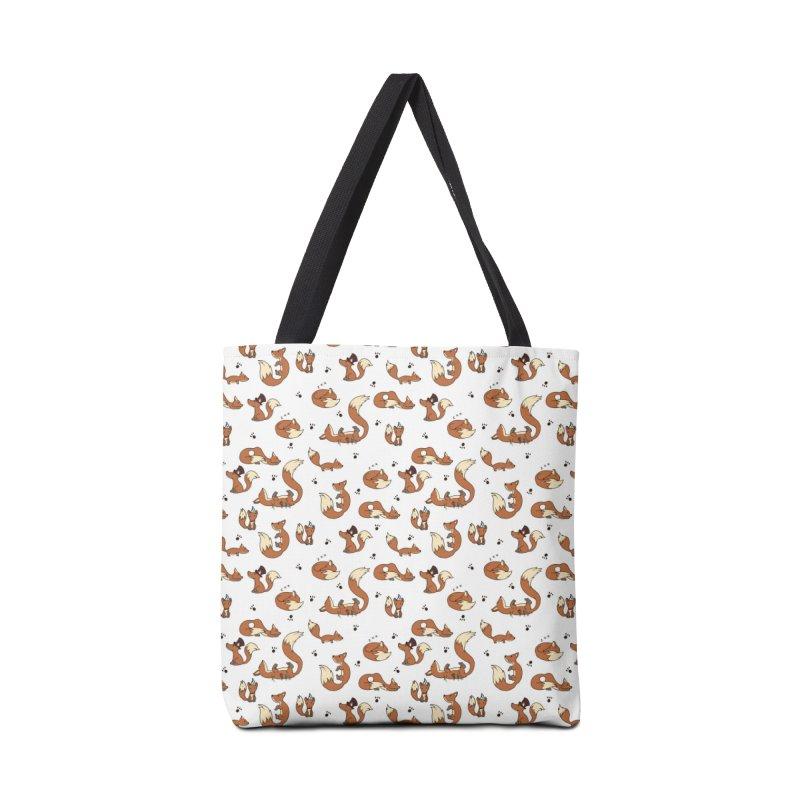 Little Foxes Accessories Bag by Svaeth's Artist Shop