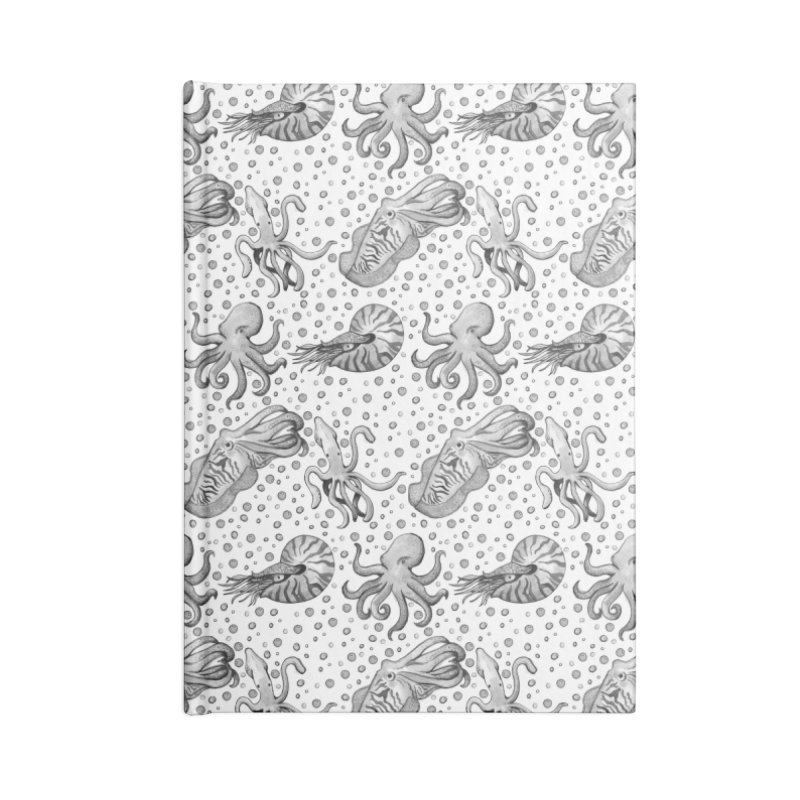 Cephalopods Accessories Notebook by Svaeth's Artist Shop