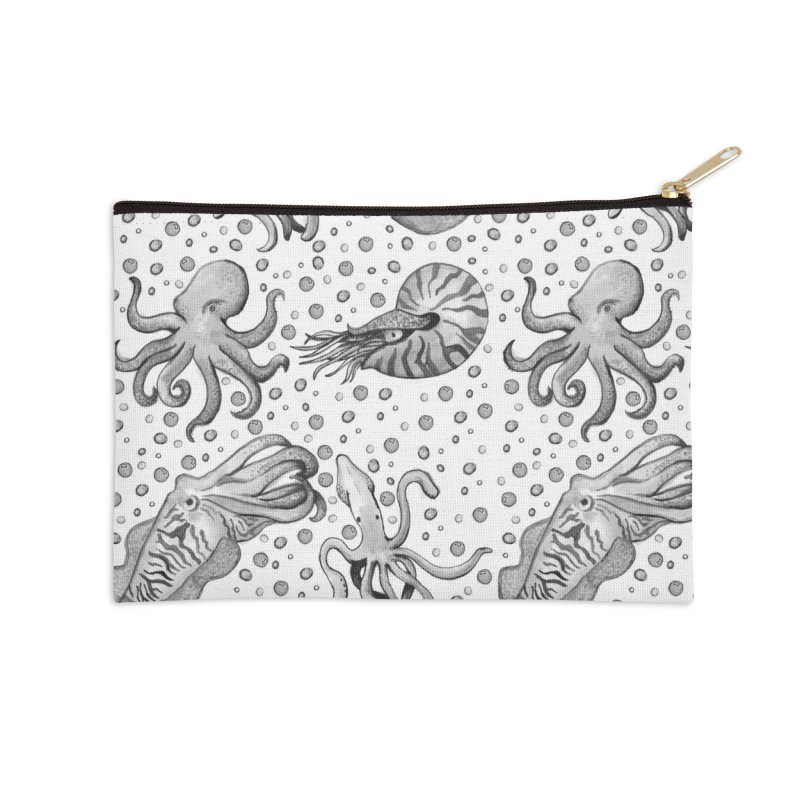 Cephalopods Accessories Zip Pouch by Svaeth's Artist Shop