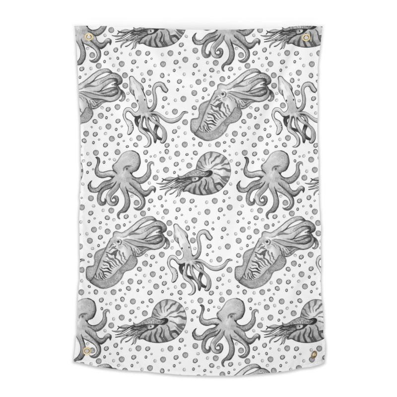 Cephalopods Home Tapestry by Svaeth's Artist Shop