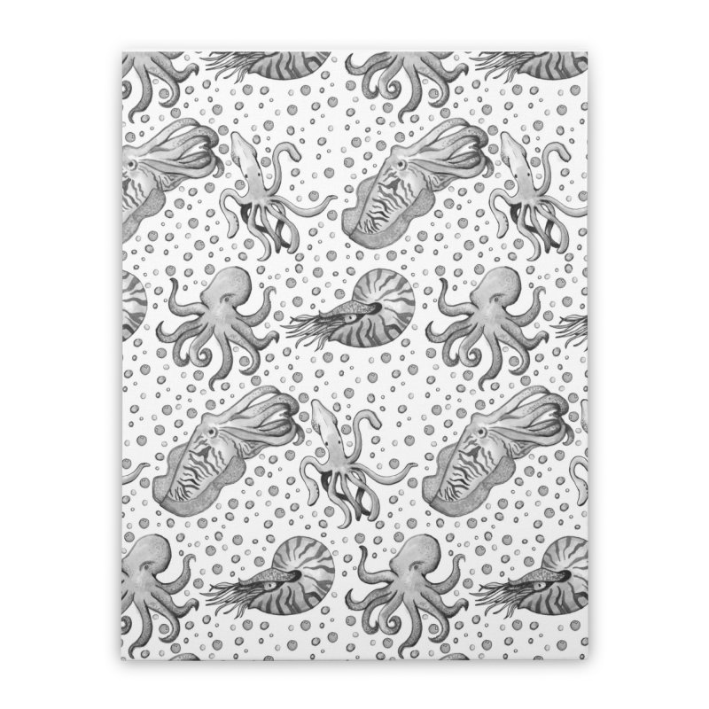 Cephalopods Home Stretched Canvas by Svaeth's Artist Shop