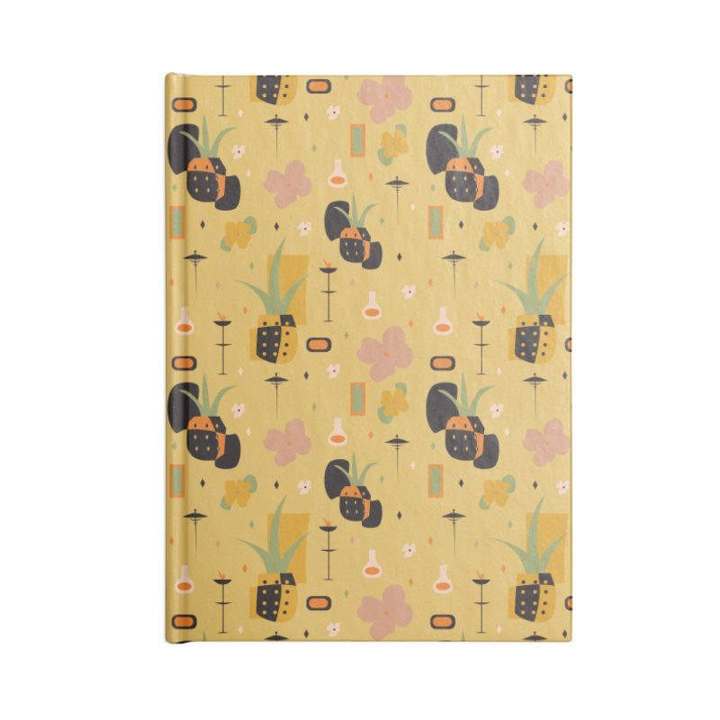 Mod Pineapples Accessories Notebook by Svaeth's Artist Shop