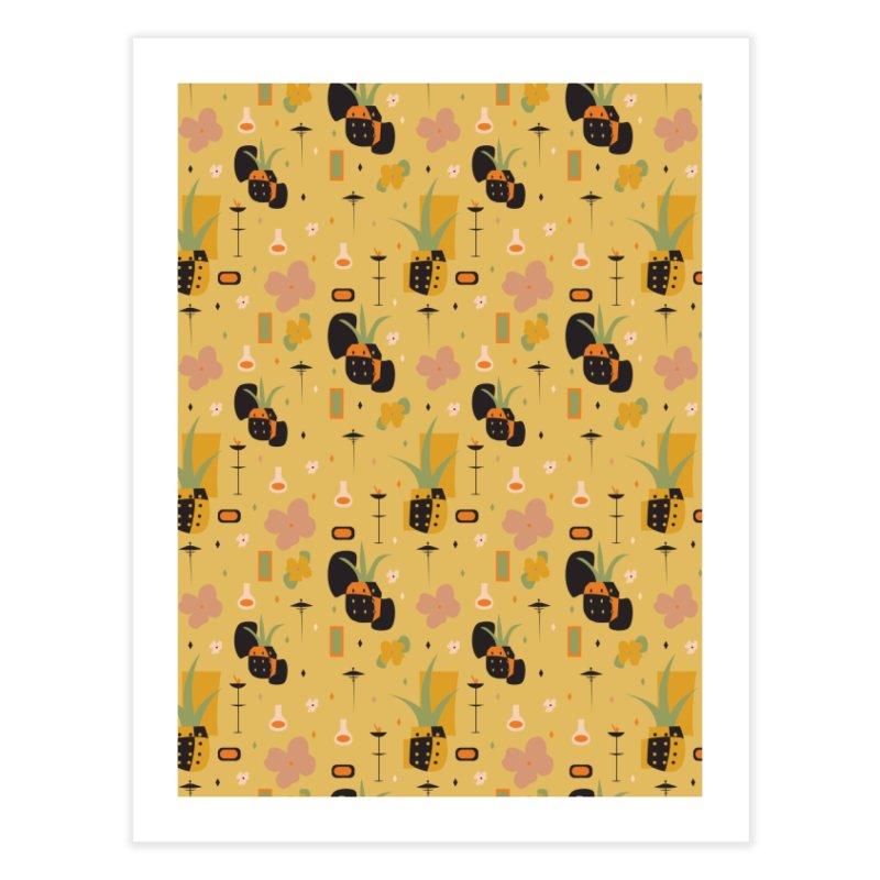Mod Pineapples Home Fine Art Print by Svaeth's Artist Shop