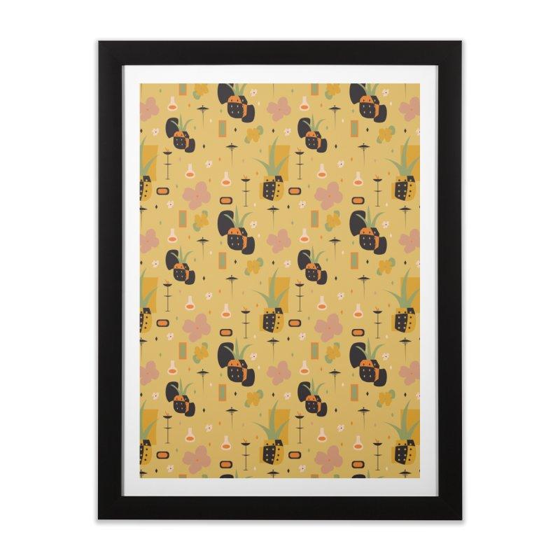 Mod Pineapples Home Framed Fine Art Print by Svaeth's Artist Shop
