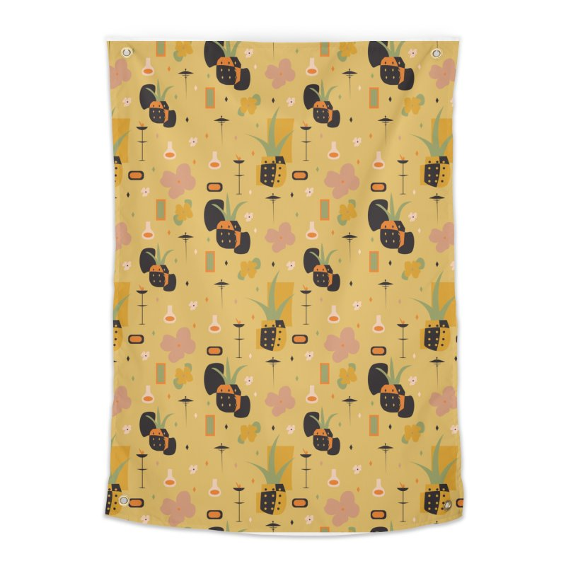 Mod Pineapples Home Tapestry by Svaeth's Artist Shop