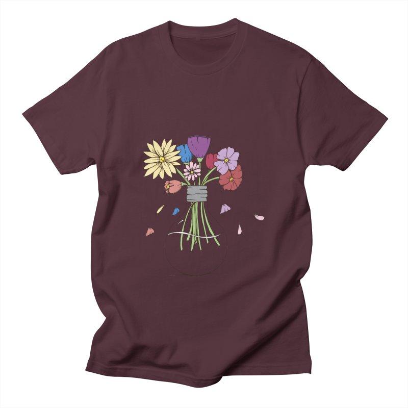 Cut Flowers Men's T-Shirt by Svaeth's Artist Shop