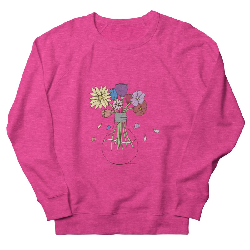 Cut Flowers Women's Sweatshirt by Svaeth's Artist Shop