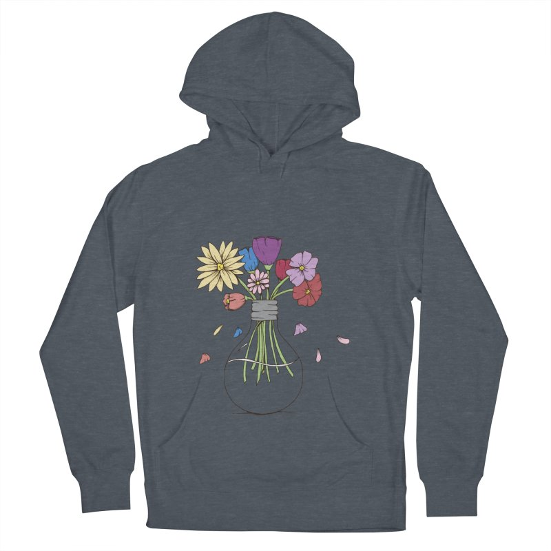 Cut Flowers Men's French Terry Pullover Hoody by Svaeth's Artist Shop
