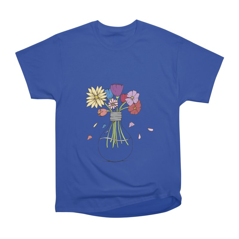 Cut Flowers Women's Heavyweight Unisex T-Shirt by Svaeth's Artist Shop