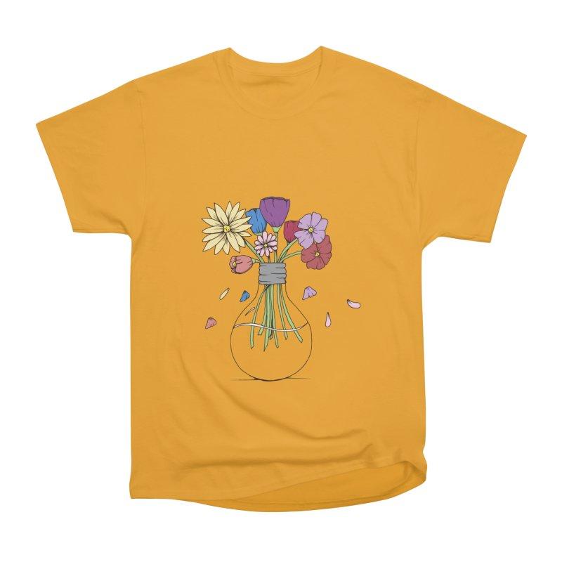 Cut Flowers Men's Heavyweight T-Shirt by Svaeth's Artist Shop