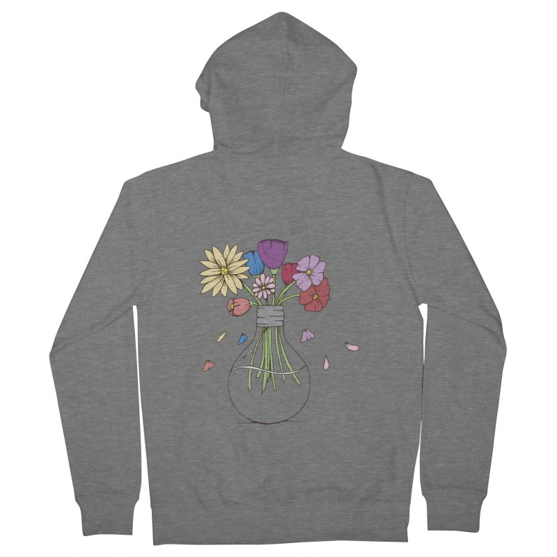 Cut Flowers Women's Zip-Up Hoody by Svaeth's Artist Shop
