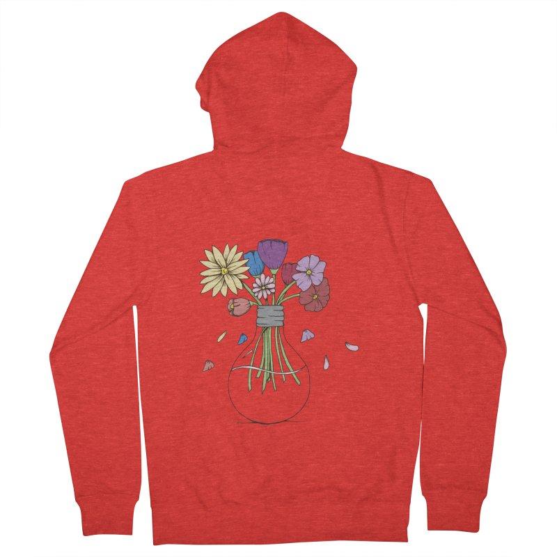 Cut Flowers Women's Zip-Up Hoody by Svaeth's Artist Shop