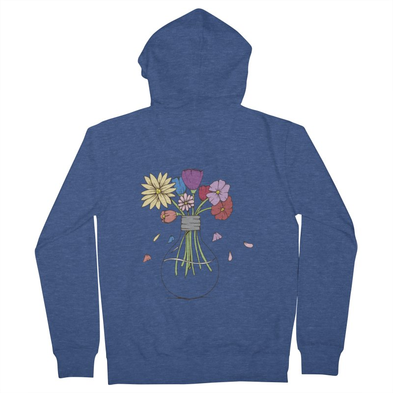 Cut Flowers Men's Zip-Up Hoody by Svaeth's Artist Shop