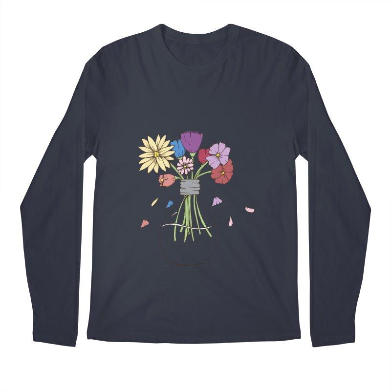 Cut Flowers Men's Longsleeve T-Shirt by Svaeth's Artist Shop