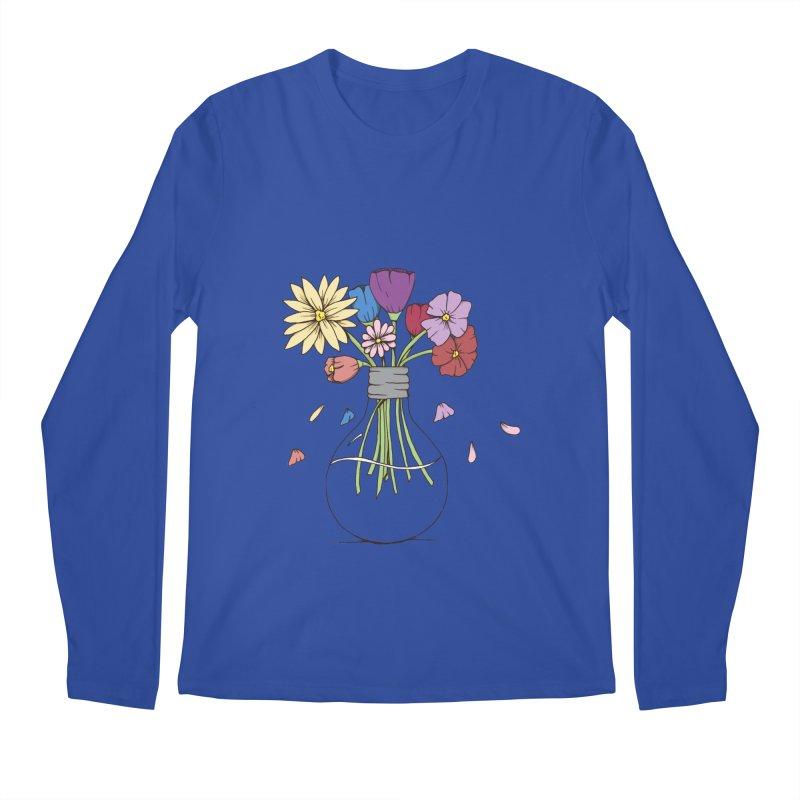 Cut Flowers Men's Regular Longsleeve T-Shirt by Svaeth's Artist Shop