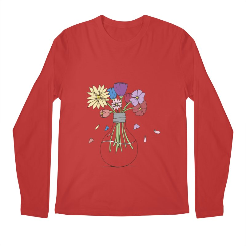 Cut Flowers Men's Regular Longsleeve T-Shirt by Svaeth's Artist Shop