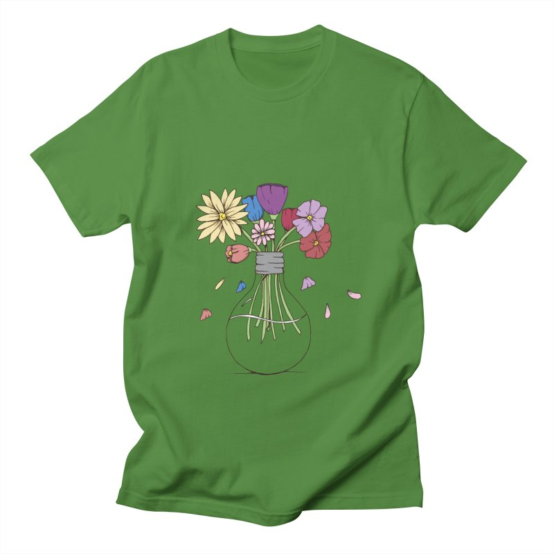 Cut Flowers Men's T-Shirt by Svaeth's Artist Shop